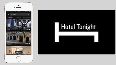L'application HotelTonight vous permet de réserver en dernière minute