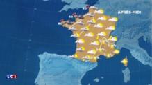 La météo de ce mercredi : peu de pluie mais des nuages du sud-ouest au nord-est