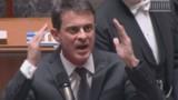 Une partie de la droite conspue Valls, des députés disent leur honte de ce spectacle