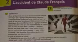 Claude François exercice physique-chimie manuel Bordas collège