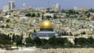 israel palestine jérusalem vue