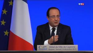 Le 20 heures du 14 décembre 2013 : Hollande - 743.156