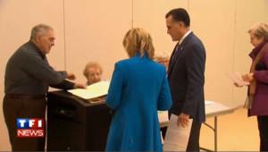Mitt Romney vote : les images