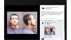 Un homme arrêté après avoir liké son propre avis de recherche sur Facebook