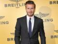 David Beckham à son arrivée à la soirée d'ouverture de la boutique Breitling sur Bond Street, à Londres, en juin 2013