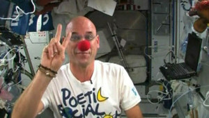 Guy Laliberté, fondateur du Cirque du Soleil, dans l'ISS (10 octobre 2009)