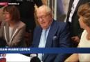 """Jean-Marie Le Pen patiente en chanson: """"Qu'est-ce qu'on attend pour être heureux ?"""""""