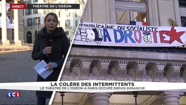 La colère des intermittents : le théâtre de l'Odéon occupé depuis dimanche
