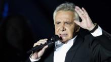 Michel Sardou à l'Olympia en décembre 2012, à Paris.