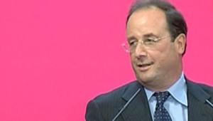 TF1-LCI - François Hollande à la réunion de Lens le 16 septembre 2006