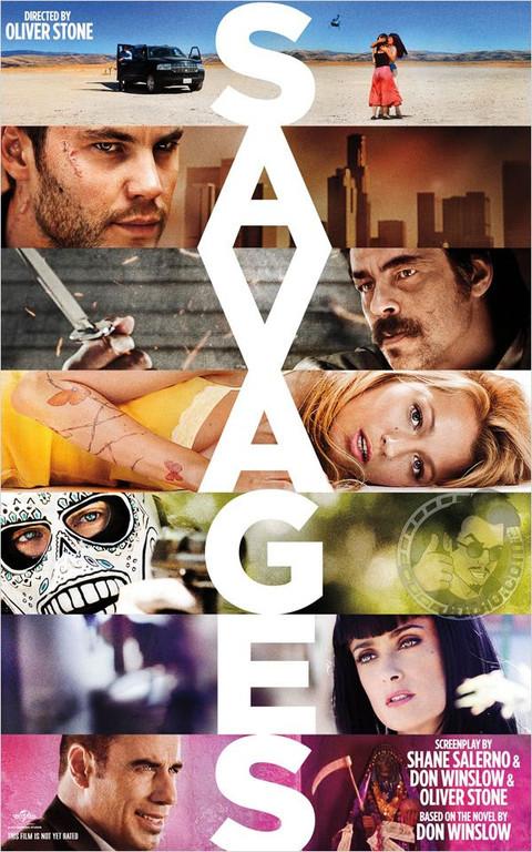 Affiche américaine du film Savages