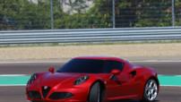 Alfa Romeo 4C, sportive de 240 chevaux lancée à l'automne 2013, au prix d'environ 53.000 euros.