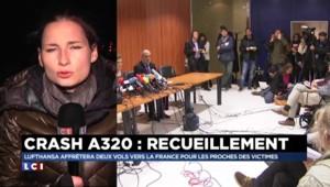 Crash dans les Alpes : le dispositif suspendu pour la nuit, l'accueil des familles prévu jeudi