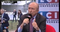 """Gérard Collomb : """"Je ne ciblerais pas immédiatement"""" les 35 heures"""