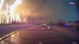 Incendie de Fort McMurray : 80 km en cinq jours, l'ampleur de la catastrophe