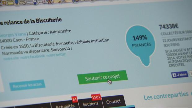 """Le 20 heures du 23 octobre 2014 : Conflit social : la biscuiterie """"Jeannette"""", sauv�gr� aux internautes ? - 1223.406"""