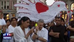MH17 : marche silencieuse à Amsterdam en hommage aux victimes