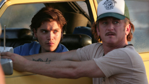 Sean Penn, sur le tournage de Into The Wild