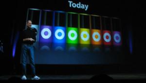 Steve Jobs annonce les nouveaux iPods le 9 septembre