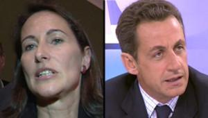 TF1-LCI - Nicolas Sarkozy et Ségolène Royal, le 22 septembre 2006