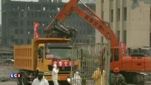 Tianjin : les images aériennes, neuf jours après l'explosion