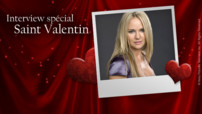 Interview Sharon Case, spéciale Saint-Valentin