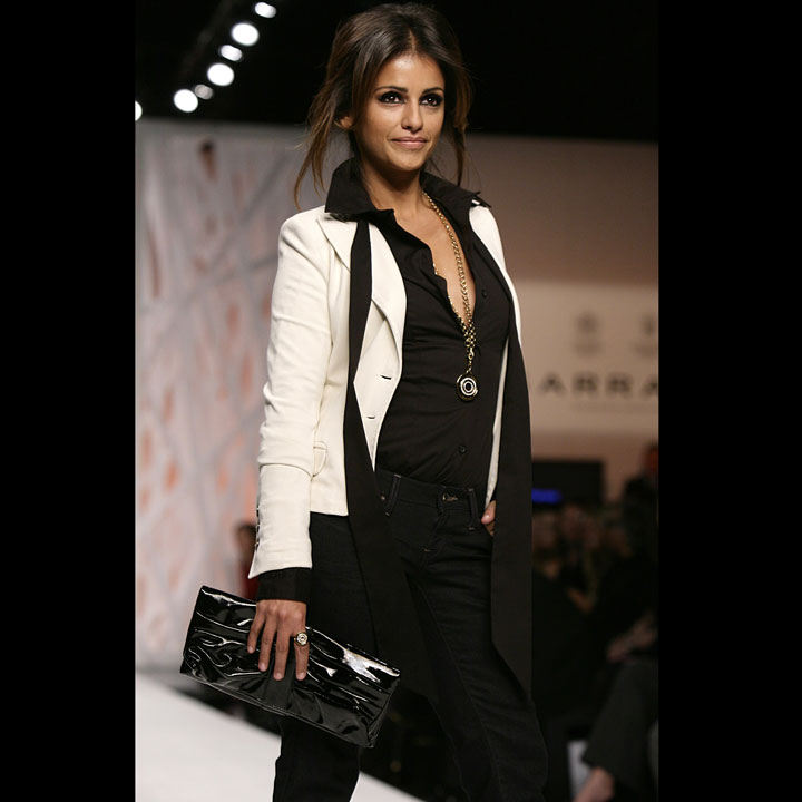 Mode : Monica Cruz à la Fashion Week de Londres