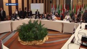 La ligue arabe réunie au Caire le 8 janvier 2012 sur le dossier syrien.