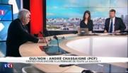 """Mélenchon """"ne doit pas s'auto-proclamer candidat"""" pour 2017 selon Chassaigne (PCF)"""