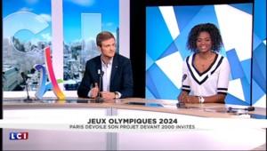 """Paris 2024 : """"On était 2.000 aujourd'hui, il faut qu'on soit des millions"""""""
