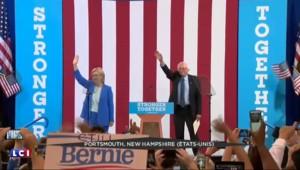Présidentielle : Sanders apporte son soutien à Hillary Clinton