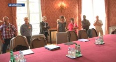 Stéphane Le Foll a reçu le 19 août une délégation des salariés de Gad.