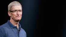 Tim Cook, le patron d'Apple, en octobre 2012