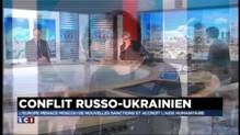 """Conflit russo-ukrainien : """"Cette guerre sur le terrain cache aussi une guerre économique"""""""