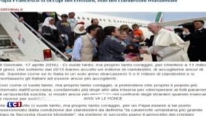 Italie : l'accueil des trois familles syriennes par le pape François divise