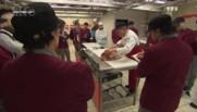 Le métier de boucher est une reconversion pour les élèves de l'école des métiers de la viande