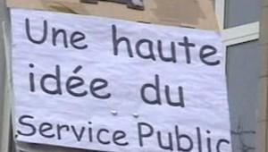 manifestation service public pancarte 02/02/2006
