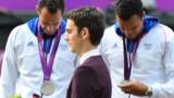 Et au huitième jour des Jeux, la France remporta trois médailles