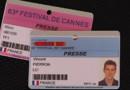 Badges des équipes de LCI et TF1 au Festival de Cannes 2010