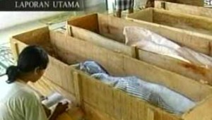 cercueils Indonésie