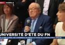 """""""J'ai été le seul à prévoir"""" la crise des migrants, estime Jean-Marie Le Pen"""