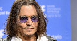 "L'acteur Johnny Depp au Festival du film de Toronto en septembre 2012 pour présenter le film ""West of Memphis"""