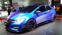 La nouvelle Honda Civic Type R Concept.