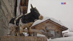 Le 13 heures du 23 janvier 2014 : Une vall�en hiver (4/5) : vivre dans une ferme en altitude - 2274.5656109008787