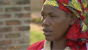 Marie, survivante du génocide rwandais.