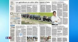 Revue de presse du 3 septembre 2015 : les agriculteurs se mobilisent à Paris