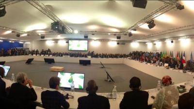 Sommet des chefs d'Etat Africains, le 1er décembre 2015 au Bourget dans le cadre de la COP 21