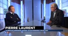 Travail le dimanche : Pierre Laurent dénonce une régression sociale