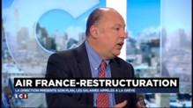 """Air France : """"Un pilote gagne la même chose qu'un conducteur de TGV"""""""