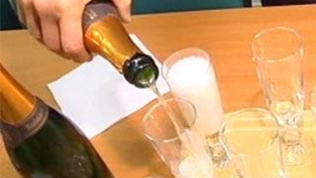 Champagne fête verre célébration